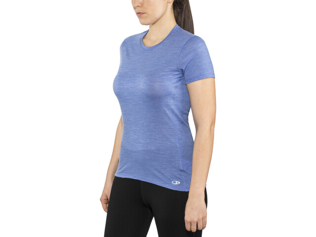 Icebreaker Amplify T-shirt Damer, cove heather